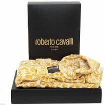 Accappatoio di spugna Roberto Cavalli Snow Leopard