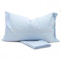 Completo lenzuola CASABIANCHERIA Azzurro Chiaro