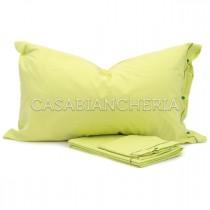 Completo lenzuola CASABIANCHERIA Verde Chiaro