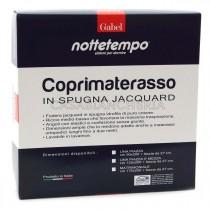 Coprimaterasso Gabel Nottetempo in spugna jacquard