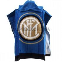 Poncho accappatoio di spugna Inter