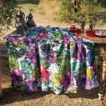 Tovaglia di canapa Tessitura Toscana Karkade