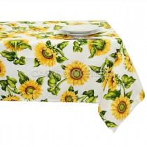 Tovaglia di cotone Sunflowers 140x240