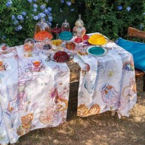 Tovaglia di canapa Tessitura Toscana Telerie Jelly