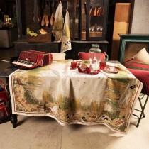 Tovaglia di lino Tessitura Toscana Walser