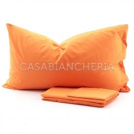 Completo lenzuola CASABIANCHERIA Arancio