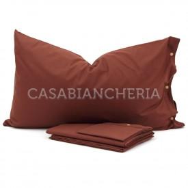 Completo lenzuola CASABIANCHERIA Marrone