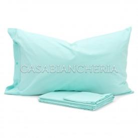 Completo lenzuola CASABIANCHERIA Verde Acqua