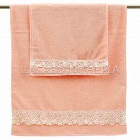 Coppia asciugamani Gabel Beatrice con pizzo