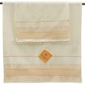Coppia asciugamani di spugna Laura Biagiotti Augusta
