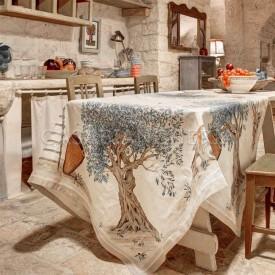 Tovaglia di lino Tessitura Toscana Dop